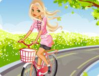 Chic Bike Rider