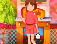 Chihiro from Spirited Away Anime Dress Up