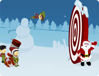 Christmas Cannon Blast tile