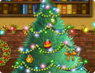 Christmas Village Decoration - Girl Games