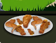 Cooking Fried Chicken Wings