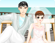Cool Couple Beach Dressup