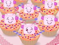 Cupcake Robot  tile
