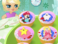 Custom Cartoon Cupcakes tile