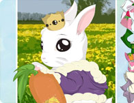 Cute Bunny Dressup