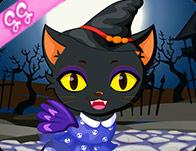 Cute Kitty Cat Halloween
