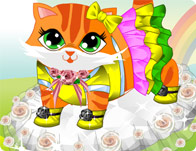 Cute Kitty Dressup