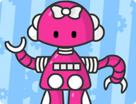 Cute Robot Girl