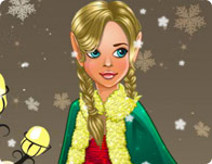December Cover Elf Girl