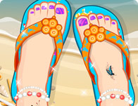 Decor My Beach Sandals