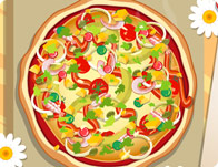 Decorate Delicious Pizza