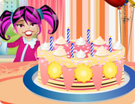 Baby First Birthday Cake Girl Games