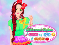 Different Styles: Girly Vs Emo Vs Glam