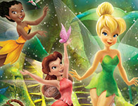 Disney Fairies Hidden Letters