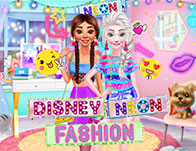 Disney Neon Fashion