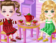Doll House Tea Party