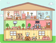 dollhouse - House Decorating Games