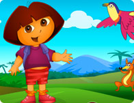 Dora Spot the Difference