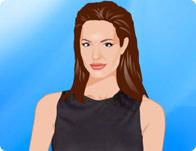 Dressup Angelina Jolie