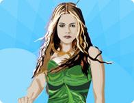Dressup Avril Lavigne Doll