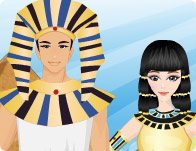 Egyptian King and Queen
