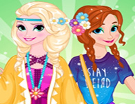 Elsa and Anna - Spring Trends