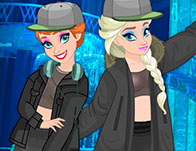 Elsa And Anna Yeezy