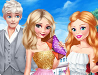 Elsa And Barbie Date Fashion