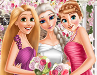 Elsa and Princesses Wedding