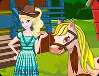 Elsa at Horse Farm