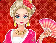 Elsa Exploring China