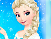 Elsa Frozen Make-up