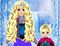 Elsa & Her Mom Hairstyle