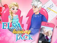 Elsa Leaves Jack Frost