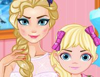 Elsa Modern Anne - Elsa Modern Mommy oyna