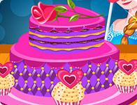 Elsas Valentines Day Cake Girl Games