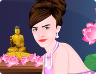 Emma Watson Chinese Spa Day