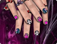 Emo nail design girl games prinsesfo Images
