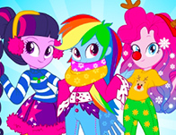 Equestria Girls Winter Fashion
