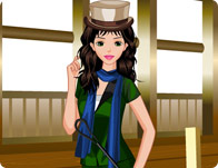 Equestrian Girl Dress Up