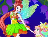 Fairy Mom and Baby