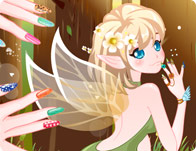 Fairy nail art girl games prinsesfo Images