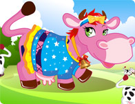 Farm Cow Dress Up