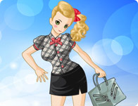 Fashion Summer Girl Dress Up