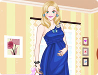 Fashionable Expecting Mother