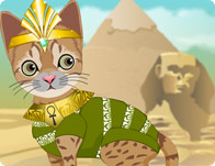 Click Here to Play Feline Pharaoh!