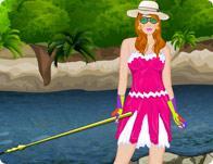 Fishing Girl Dress Up