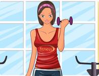 Fitness Girl Dressup