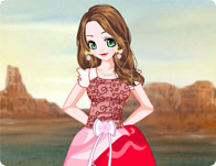 Flower Girl Dressup Makeover