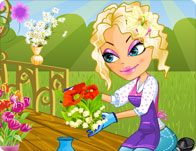 Click Here to Play Gardening Flower Girl!